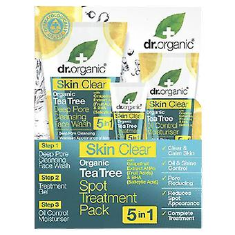 Dr. Organic Skin Clear set Tratamiento Facial 5 en 1