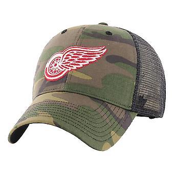 47 Brand Detriot Red Wings Branson Cap - Camo