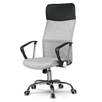 Bürostuhl ergonomisch - grau - Sydney Design - atmungsaktiv