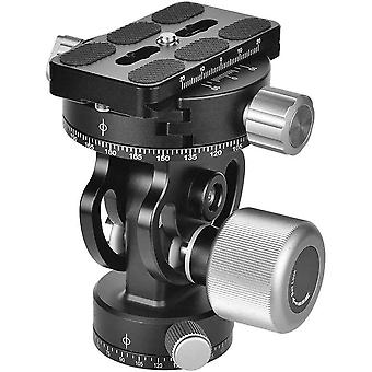 DZK Tilt Head with Quick Release Plate 360 Panoramic Tripod Head, Replace for Sirui L10 RRS MH-02,