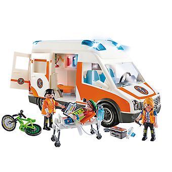Playmobil City Life ambulanssi valot ja ääni
