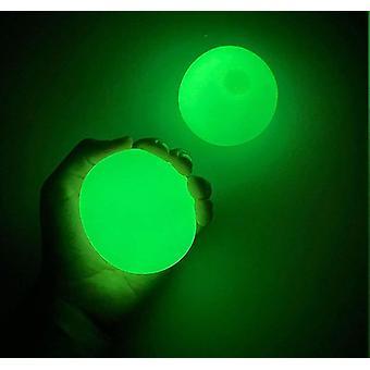 Selfree 2pcs Globbles Fidget Toy Sticky Balls Racket Stress Relief Sticky