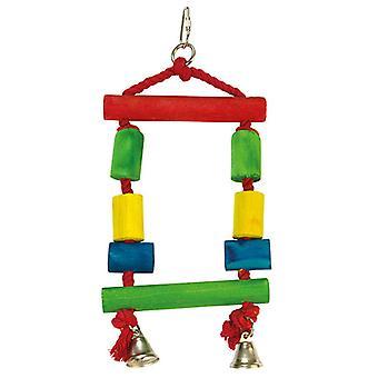 Arquivet schommel kleuren 13 X 25 Cm (vogels, vogel kooi accessoires, speelgoed, schommels.)