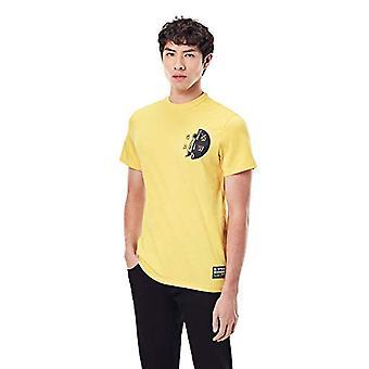 G-STAR RAW GS Raw Hammer T-Shirt, Gul hytt C336-3749, XXL Herrar