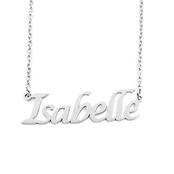 KL Kigu Isabelle - Women's necklace with custom name, fashionable jewelry, gift for girlfriend, mom, sister