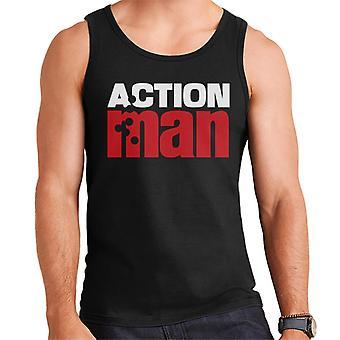 Action Man Red Logo Men's Vest