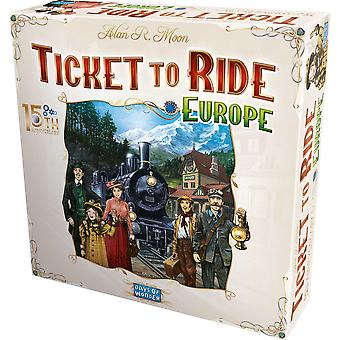 Ticket to Ride: Europe 15th Anniversary Collector's Edition