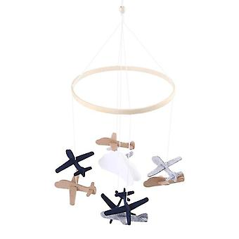 Airplane Shape Bed Bell Crib Rattle Toy