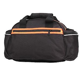 Foldable bicycle rear rack bag, portable waterproof cycling bag(40*18*21.5cm)