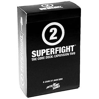 Superfight Core Expansion 2: 100 New Cards For The Game Of Absurd Arguments | For Kids Teens Adults, 3 Or More Players, Ages 8