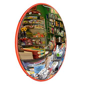 """Yescom 12"""" Traffic Convex PC Mirror Wide Angle Safety Store Corner Garage Road Blind Spot Security"""