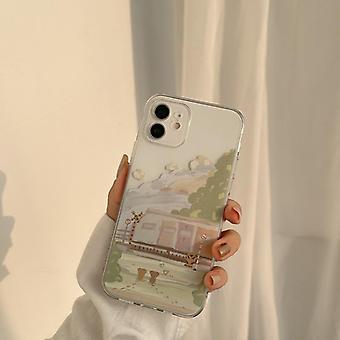 Peinture à l'huile étui de téléphone portable tout compris