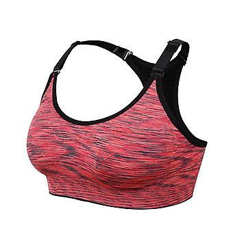 اليوغا حمالة الصدر المرأة سلك الحرة قابل للتعديل اللياقة البدنية أعلى رياضي brassiere