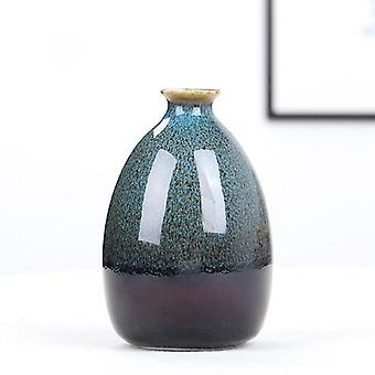 Nordic Simple Handmade Ceramic / aranżacja Butelka Doniczka