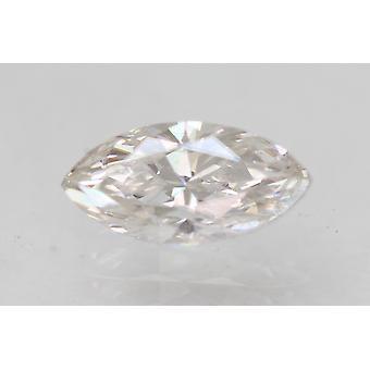 Sertifioitu 0,71 karat F VVS1 markiisi paranneltu luonnollinen löysä timantti 8,64x4,21mm