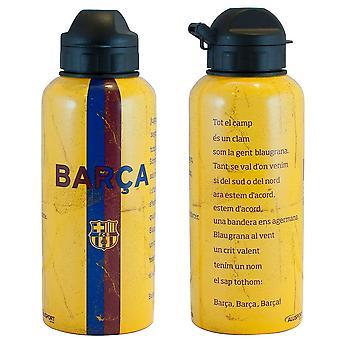 FC برشلونة مشروبات الألومنيوم زجاجة HM المنتج المرخص الرسمي