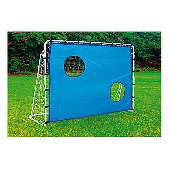 Kleines Fuß Fußballtor mit Torwand Outdoor Spielzeug