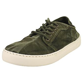Natural World Old Snail Mens Casual Shoes in Khaki