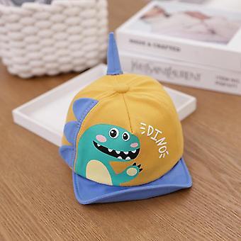 Tulostaminen Vauvan hattu Pehmeä Puuvilla Lapset Säädettävä Baseball Lippikset
