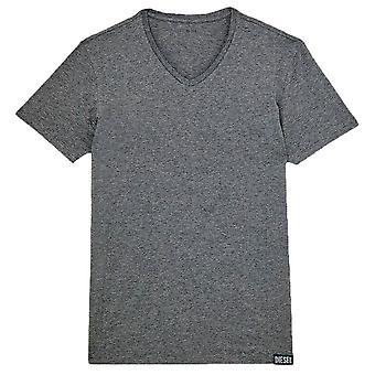 Diesel Michael 3er Pack V-Ausschnitt T-Shirts - Schwarz/Grau/Weiß