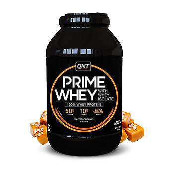 QNT Prime Whey Protein Powder 100% Whey Isolate - 908g - Salted Caramel