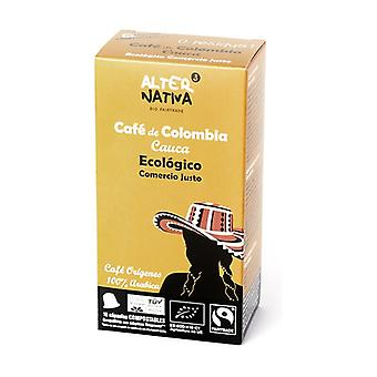 Biodegradable Organic Coffee Capsule Colombia 10 capsules of 5g