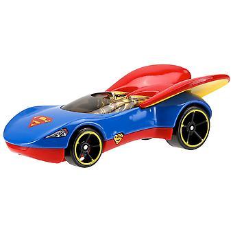 Hot Wheels DC super-héros filles moulé Supergirl