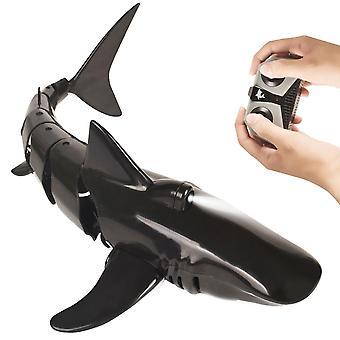 RC סימולציה כריש צעצועים 2.4G 4CH עמיד למים חשמלי שלט רחוק כריש