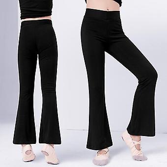 Dámské Bavlněné balety High Waist Stretch Bell-bottoms Kalhoty