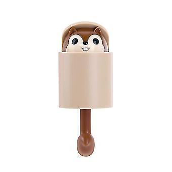 Luova varastointi orava koukku takki teline ovi koukku avaimen ketju seinä roikkuu kodin sisustus keittiö