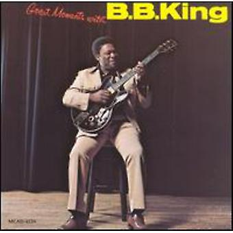 B.B. King - grands Moments avec l'importation des USA de B.B King [CD]