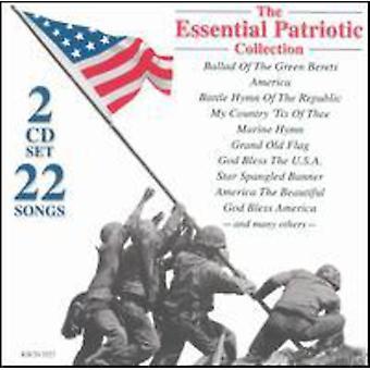 22 chansons essentielles Patriot - importer de 22 chansons USA Patriot essentiel [CD]