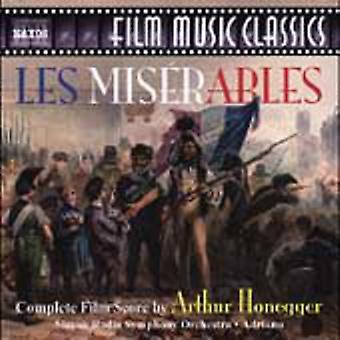 Arthur Honegger - Honegger: Les Miserables (Complete Film Score) [CD] USA import
