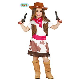 Cowgirlkostüm Cowgirl Western Kinder