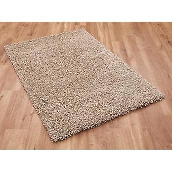 Twilight 39001-2868 Flecked beige ja luonnon valkoinen shaggy suorakulmion mattoja tavallinen/lähes tavallinen matot