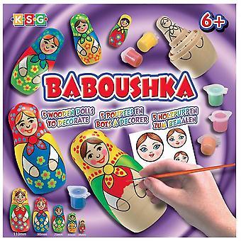 Sequin Art Baboushka Russian Doll Craft Kit