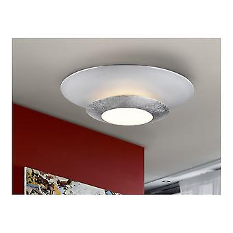 Schuller Hole LED Ceiling Lamp Silver