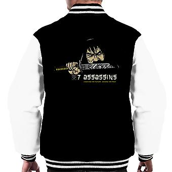 7 Assassins Samurai Jack Men's Varsity Jacket