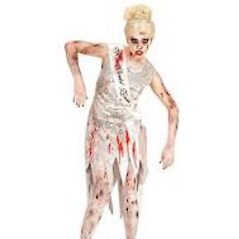 Vrouwen kostuums Miss wereld Zombie