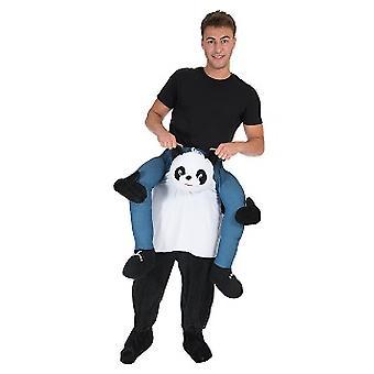 Panda Huckepack Trag mich Reiter Kostüm