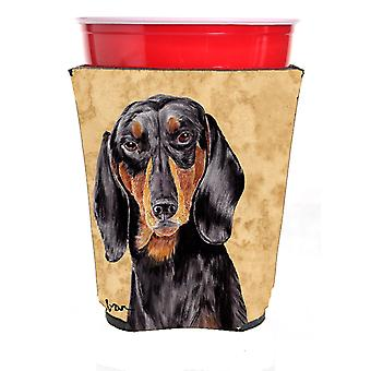 Carolines Treasures  SC9139RSC Dachshund Red Solo Cup Beverage Insulator Hugger