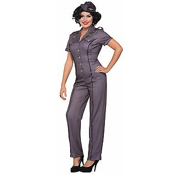 1940s Bombers Bombshells Anna Air Force Wartime Military Army Women Costume