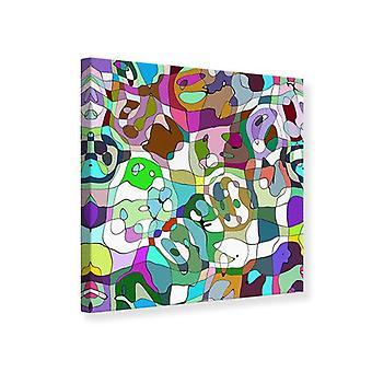 Leinwand drucken kubistische Gemälde