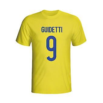 John Guidetti Sweden Hero T-shirt (yellow)
