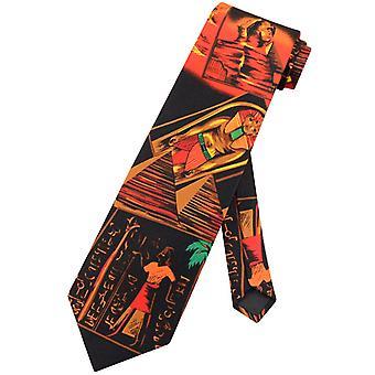 Egyptische farao Luxor NeckTie Oude Egypte Thema Mens Stropdas