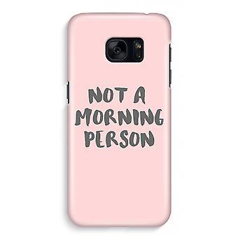サムスン S7 ケース - 朝の完全なプリント