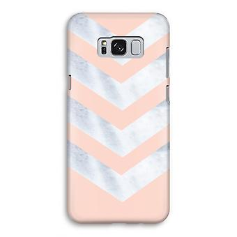 Samsung Galaxy S8 volledige Print geval (Glossy) - marmer pijlen