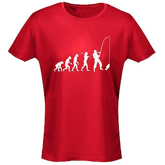 Fishing Evo Evolution Womens T-Shirt 8 Colours (8-20) by swagwear