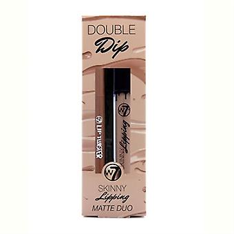 W7 Double-Dip Skinny Kantenleiste Matte Duo - Off The Wall