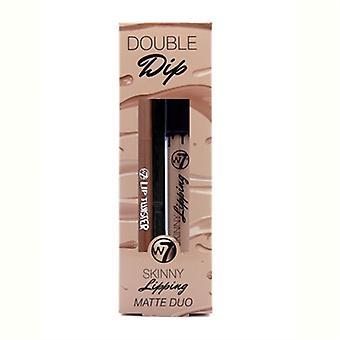 W7 Dubbele Dip Skinny afdeklatten mat Duo - Off The Wall